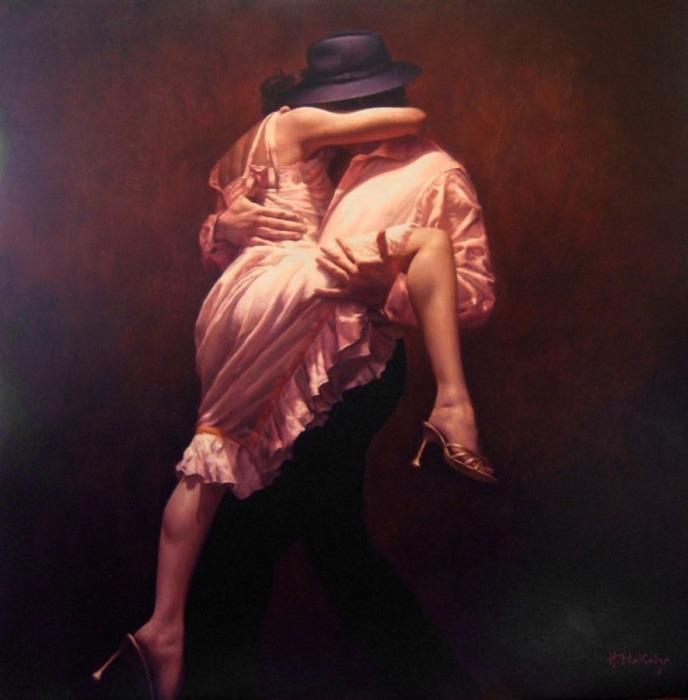 Во власти чувств и танца. Автор: Hamish Blakely.