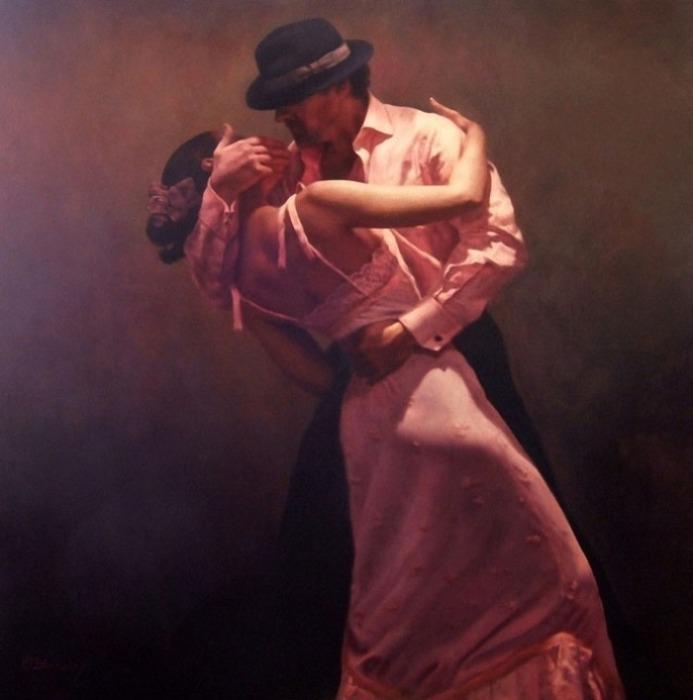 Чувственный танец. Автор: Hamish Blakely.