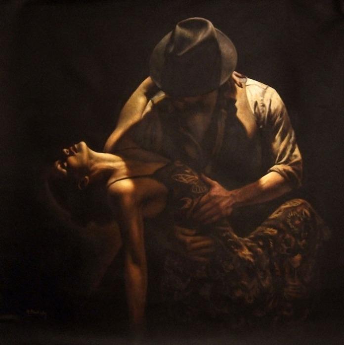 Страстное танго. Автор: Hamish Blakely.