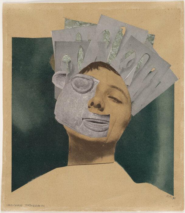 Индийская танцовщица,  Этнографический музей, Ханна Хёх. \ Фото: arthistoryproject.com.