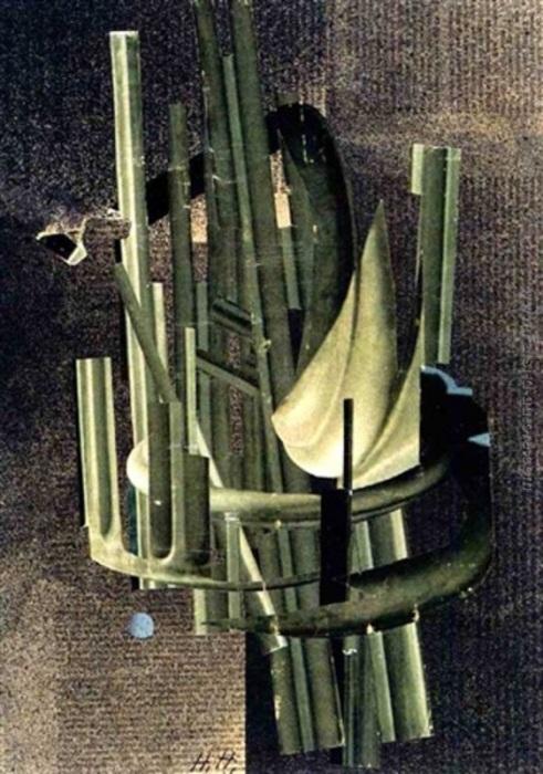 Космический полёт, Ханна Хёх. \ Фото: falsi-d-autore.it.