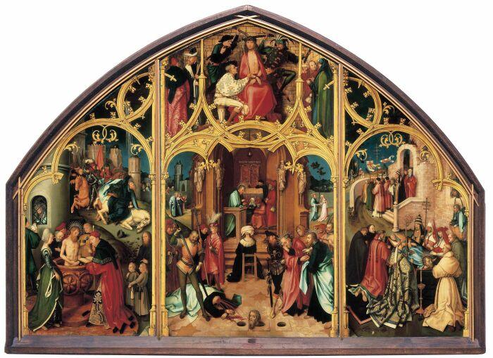 Базилика Святого Павла, Гольбейн Старший, 1504 год. \ Фото: de.wikipedia.org.
