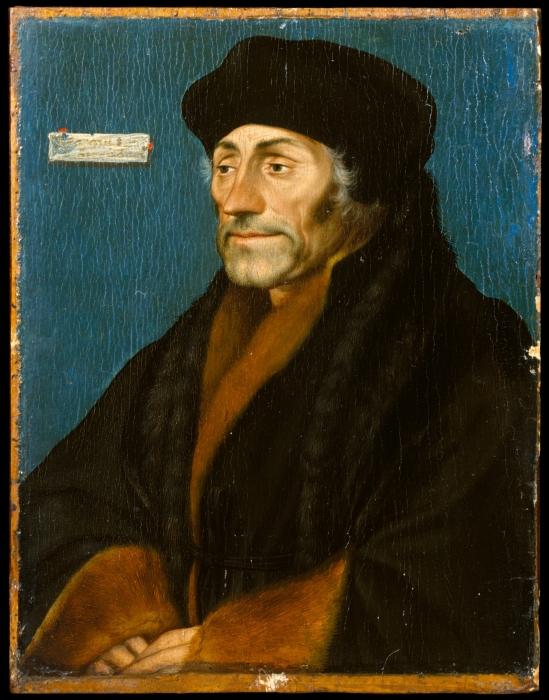 Дезидерий Эразм, Ганс Гольбейн Младший, 1532 год. \ Фото: metmuseum.org.
