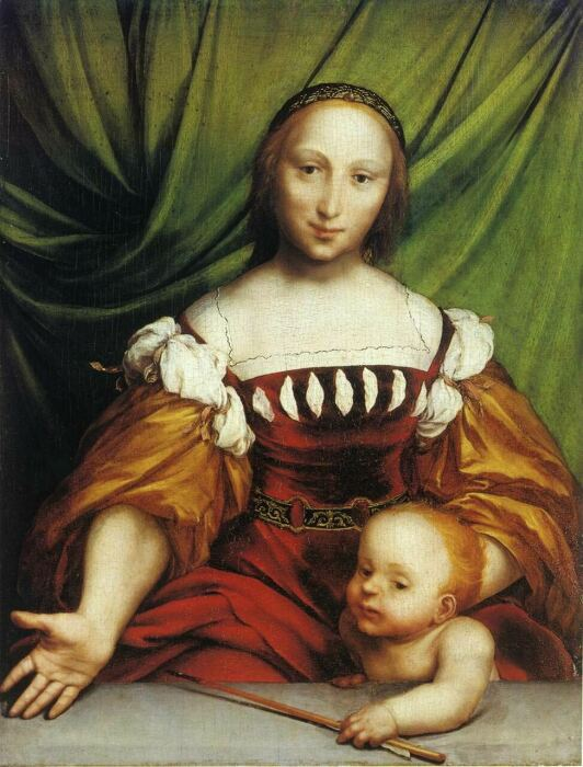Венера и Амур, Ганс Гольбейн Младший, 1526-1528 гг. \ Фото: cutlermiles.com.