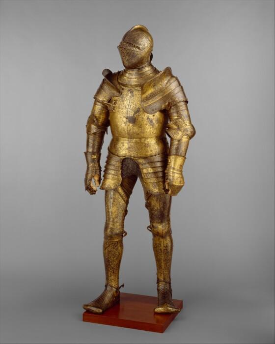 Доспехи Генриха, Ганс Гольбейн Младший, 1527 год. \ Фото: metmuseum.org.