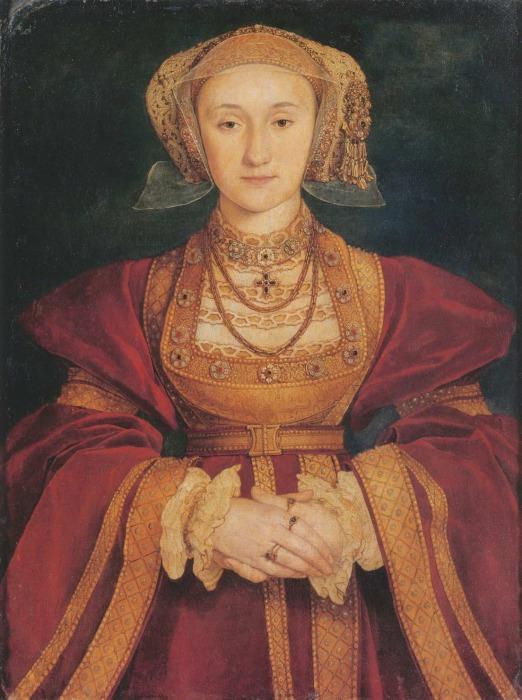 Портрет Анны Клевской, Ганс Гольбейн Младший, 1539 год. \ Фото: schoolhistory.co.uk.