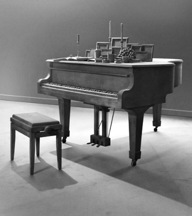 Старый рояль. Автор: Hans Op de Beeck.