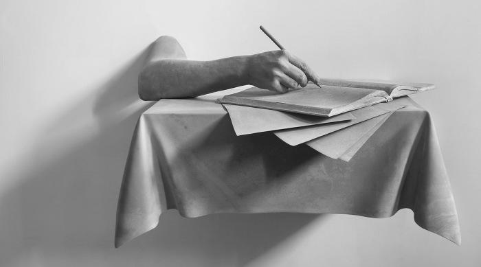 Чистый лист. Автор: Hans Op de Beeck.