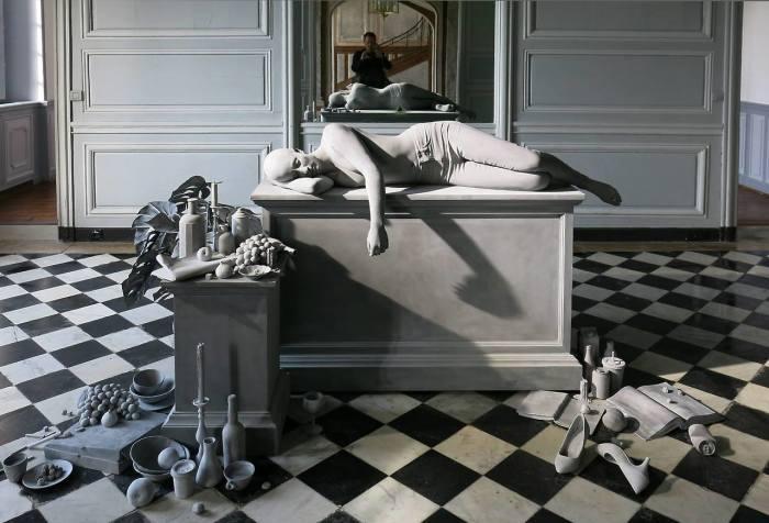 Усталость. Автор: Hans Op de Beeck.