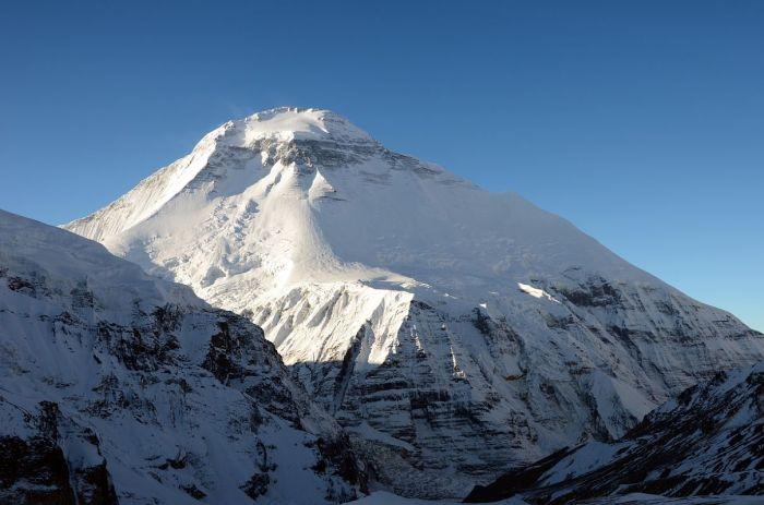 Гора Дхаулагири.