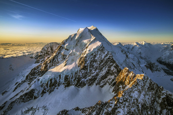 Гора Кук.