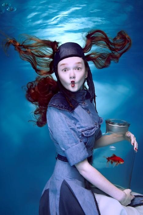 Золотая рыбка. Автор: Harry Fayt.