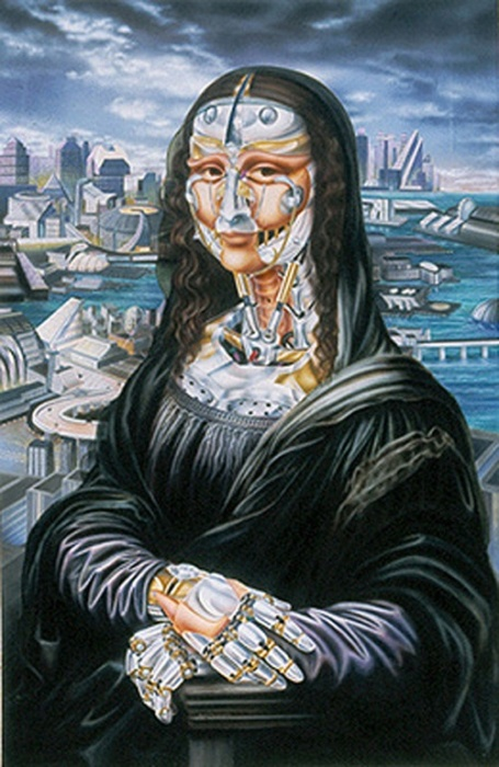 Мона Лиза. Автор: Heidi Taillefer.