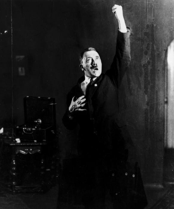 Великий оратор. Автор фото: Генрих Гофман (Heinrich Hoffmann).