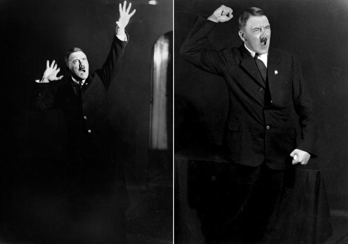 Адольф Гитлер в объективе Генриха Гофмана (Heinrich Hoffmann).