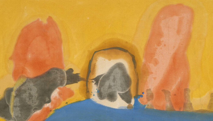 Center Break (Detail), Хелен Франкенталер, 1963 год. \ Фото: google.com.