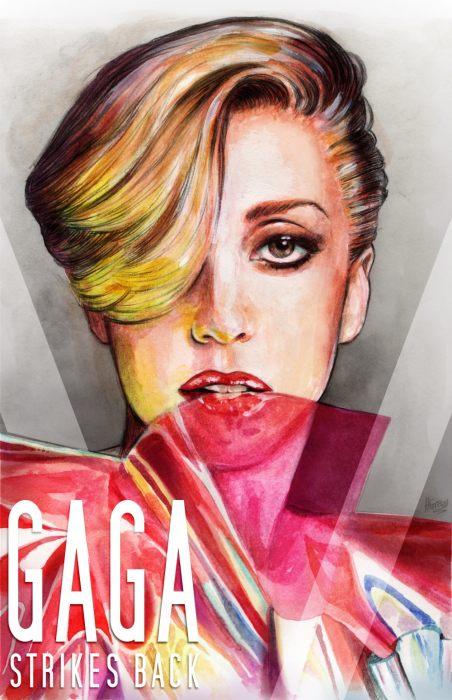 Леди Гага. Автор Helen Green.