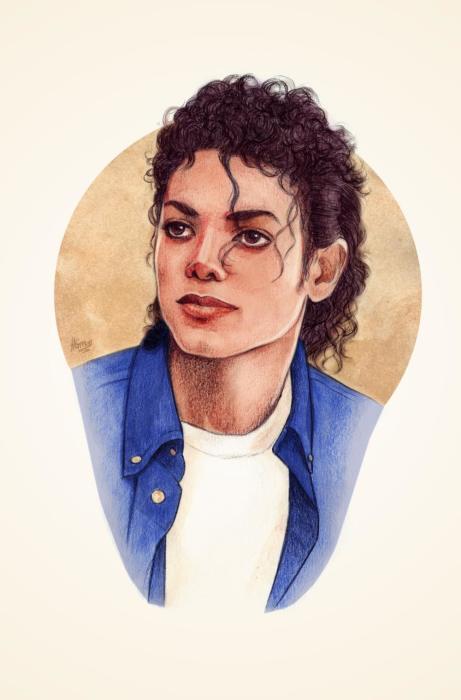 Майкл Джексон. Автор Helen Green.