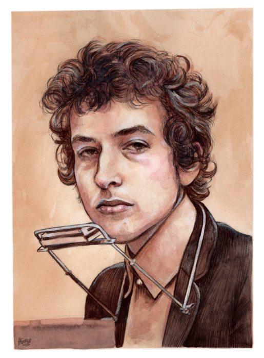 Боб Дилан. Автор Helen Green.