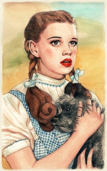 Дороти Гейл. Автор: Helen Green.