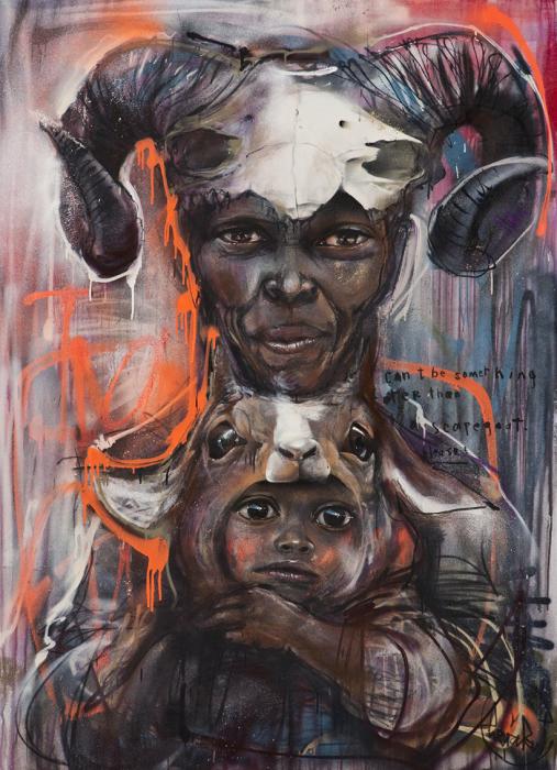Духи Африки. Автор: Herakut.