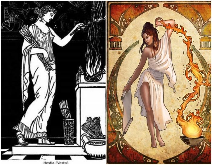 Одна из самых почитаемых богинь древней Греции. \ Фото: facebook.com.