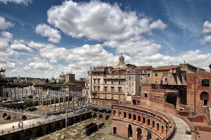 Золотой дом императора Нерона. \ Фото: italiachiamaitalia.it.
