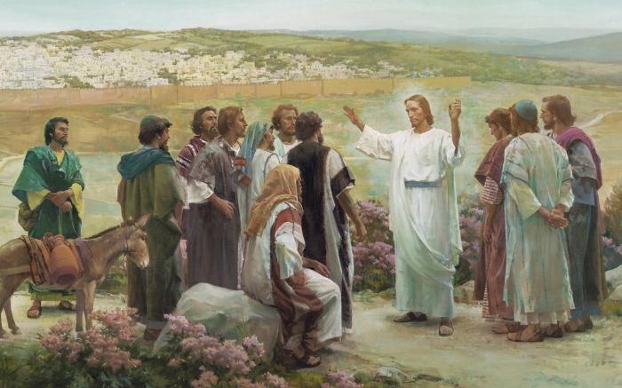 Иисус и его ученики. \ Фото: klin-demianovo.ru.