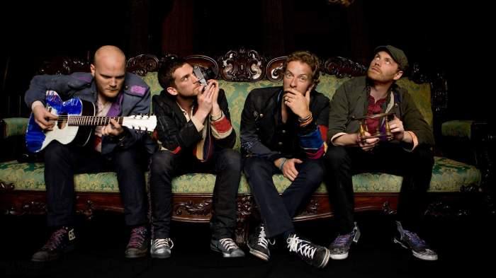 Атмосферные Coldplay. \ Фото: concertwith.me.