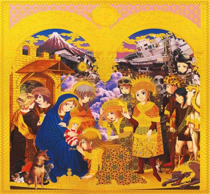 Креативные работы Хироши Мори (Hiroshi Mori).