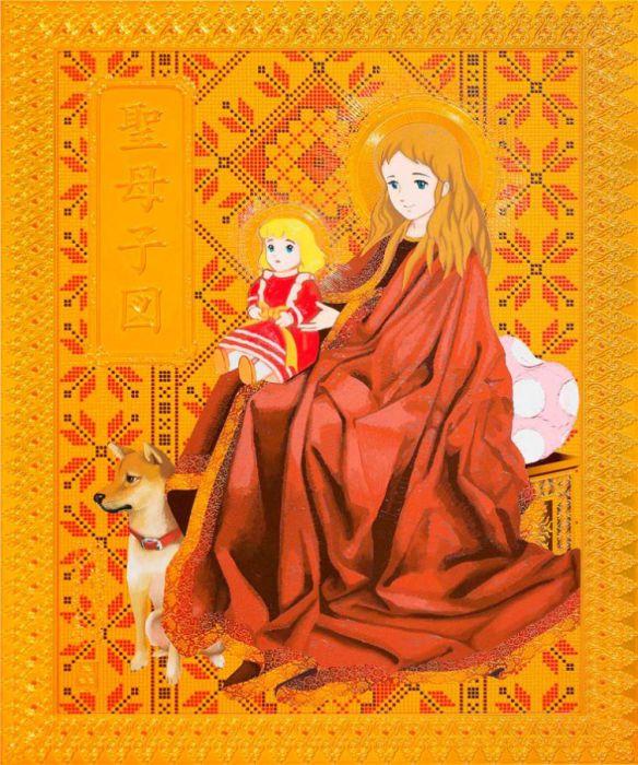 Картины Хироши Мори (Hiroshi Mori).