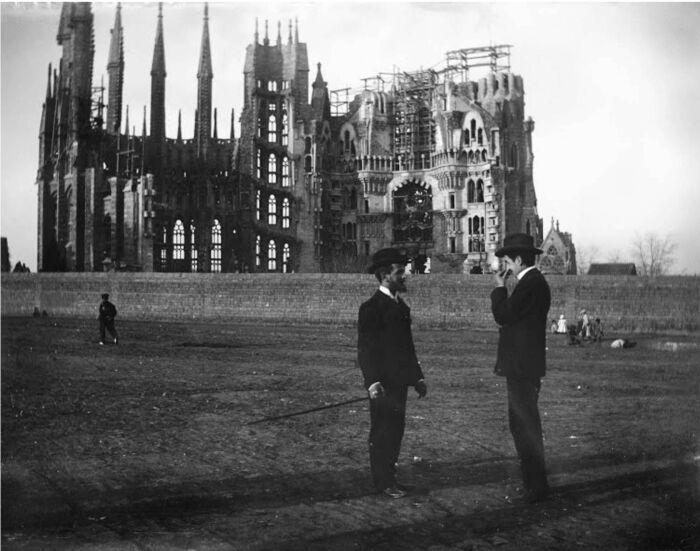 Храм Святого Семейства, 1905 год. \ Фото: pinterest.es.