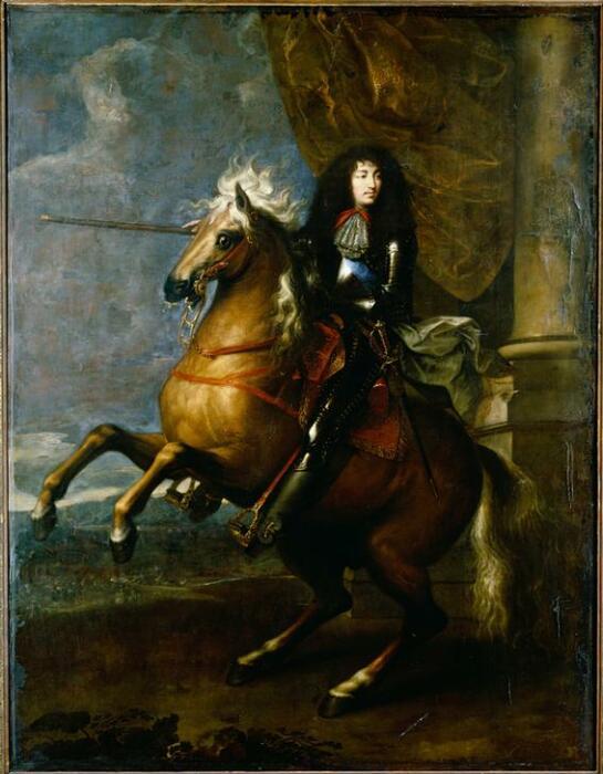 Король Людовик XIV. \ Фото: kunstkopie.de.