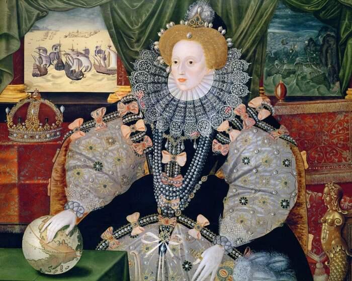Портрет королевы Елизаветы I. \ Фото: artemperor.tw.
