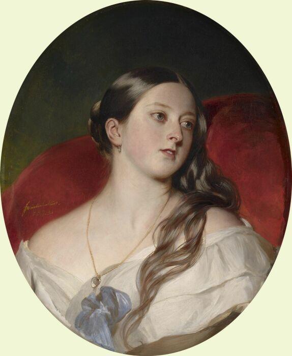 Портрет королевы Виктории. \ Фото: seebritish.art.