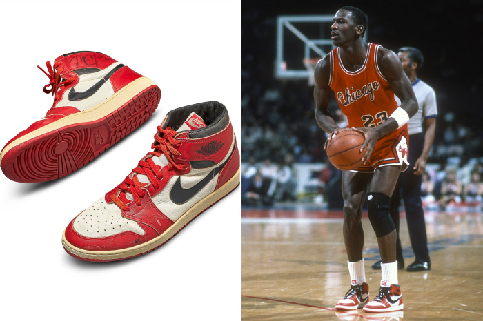 Майкл Джордан и легендарные Nike Air Force. \ Фото: idnes.cz.