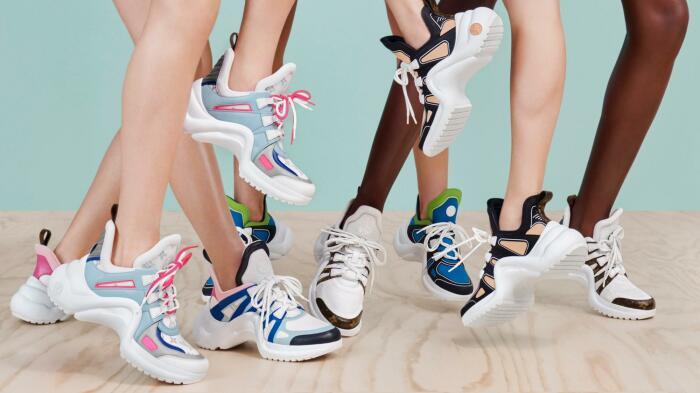 Культовые кроссовки LV Archlight. \ Фото: louisvuitton.com.