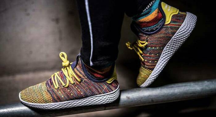 Кроссовки Pharell Williams x Adidas. \ Фото: stoneforest.ru.