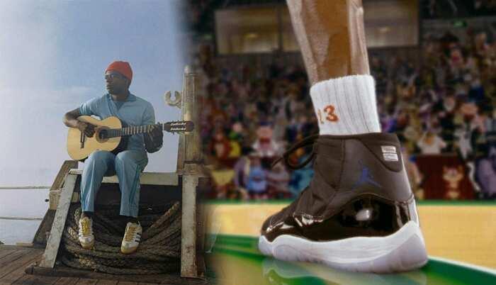 Слева направо: Фильм «Водная жизнь». \ Фото: Кадр из фильма «Космический джем». \ Фото: google.com.