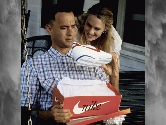Кроссовки Nike Cortez в фильме «Форест Гамп». \ Фото: yandex.ua.