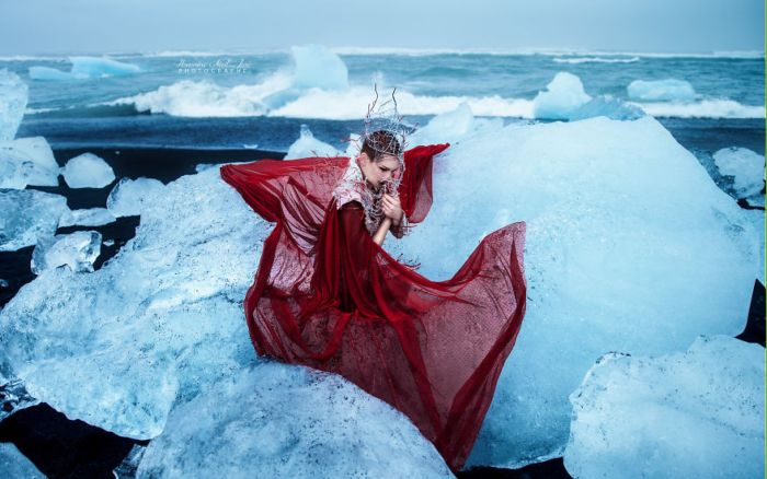Сущность жизни - таяние ледников. Автор: Honorine Nail Jure.