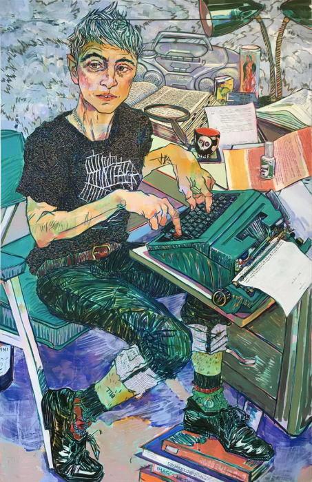 Писатель. Автор: Hope Gangloff.