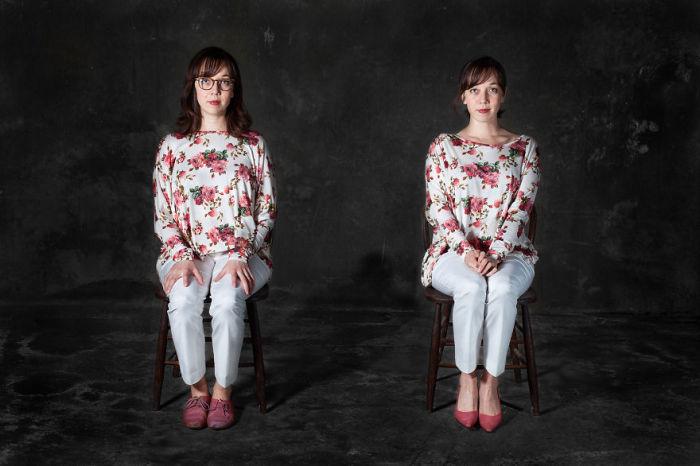 Цветочные мотивы. Фото-проект «А что, если бы мебель стала людьми?». Автор фото: Horia Manolache.