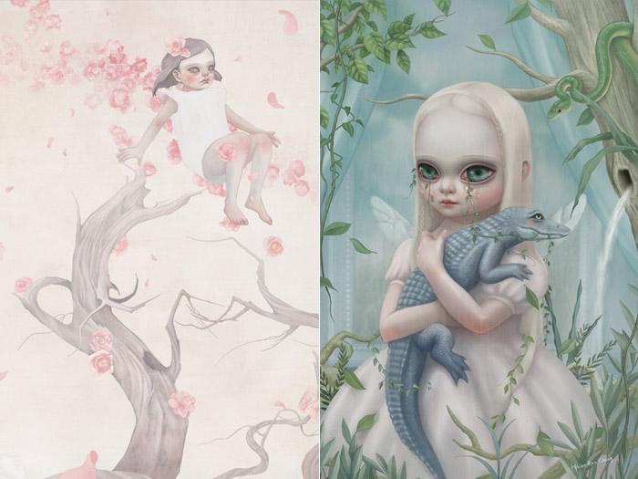 Мрачные дети, иллюстрации выполненные в пастельных тонах. Сяо-Рон Ченг (Hsiao-Ron Cheng).