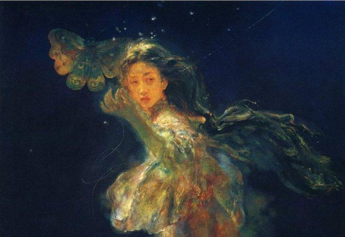 Связующая нить. Работы художника: Ху Джун Ди (Hu Jun Di).