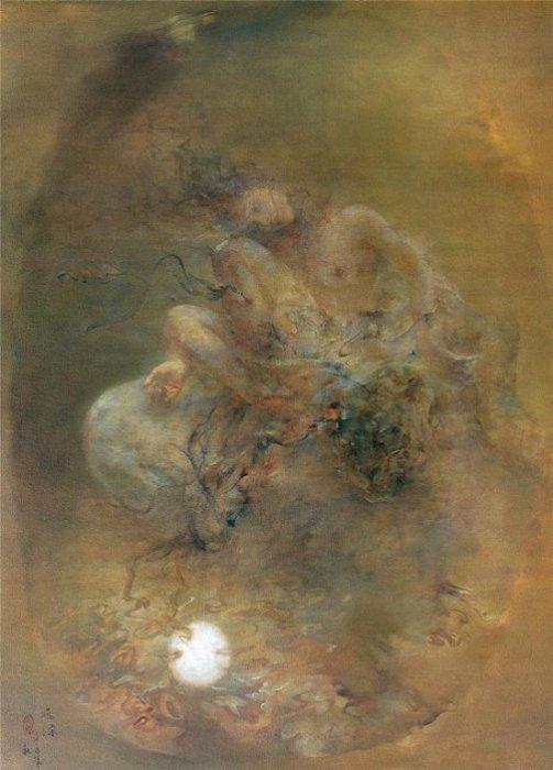 Дыхание. Работы художника: Ху Джун Ди (Hu Jun Di).