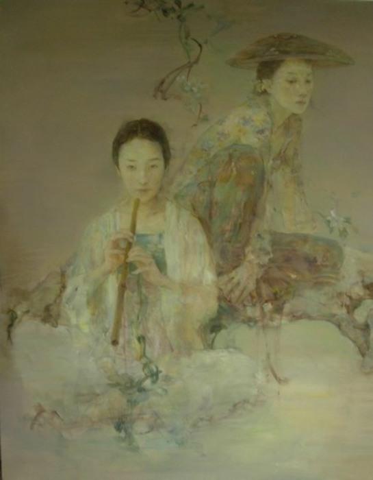 Мелодия. Работы художника: Ху Джун Ди (Hu Jun Di).