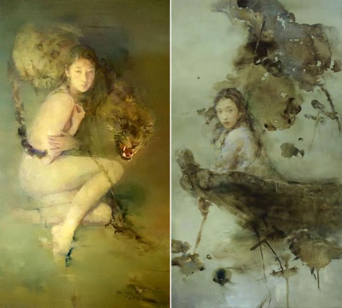 Работы художника: Ху Джун Ди (Hu Jun Di).