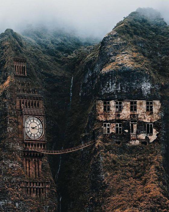 Время и место. Автор: Huseyin Sahin.