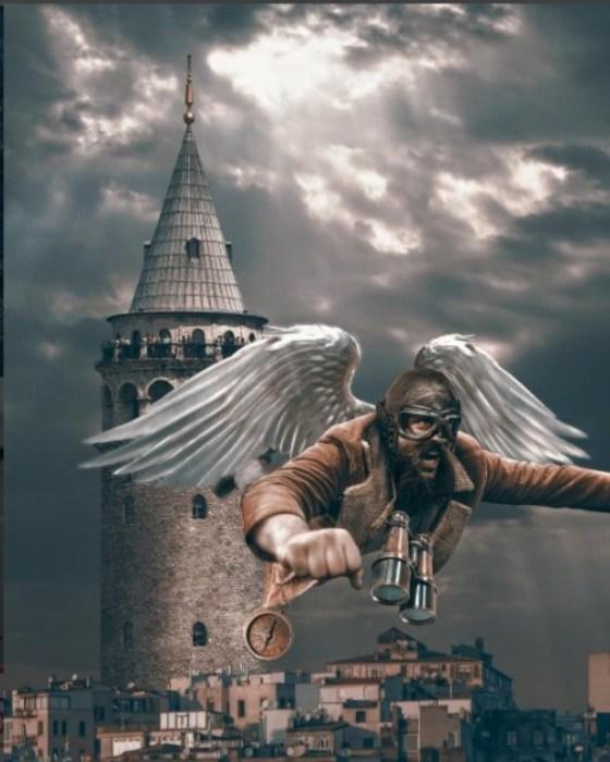 Галатская башня. Автор Huseyin Sahin.